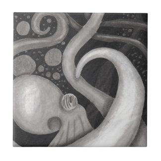 Octopus Ceramic Tile