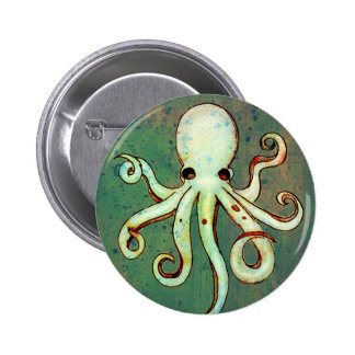Octopus Cthulhu 2 Inch Round Button