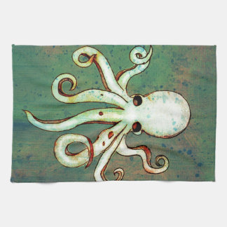 Octopus Cthulhu Kitchen Towels