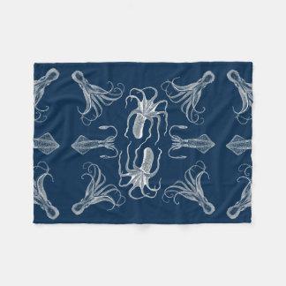 Octopus dance fleece blanket
