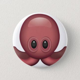 Octopus Emoji 2 Inch Round Button
