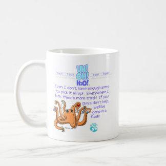 octopus front (Z), octopus back (Z) Coffee Mug