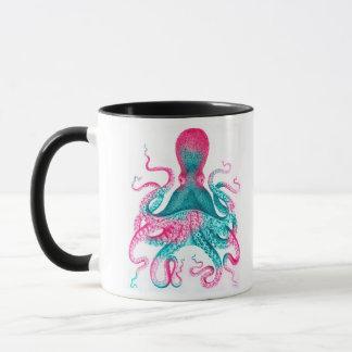 Octopus illustration - vintage - kraken mug