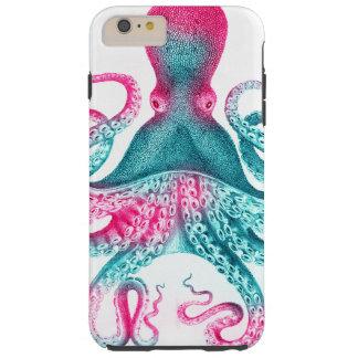 Octopus illustration - vintage - kraken tough iPhone 6 plus case