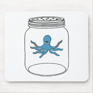 Octopus in a Jar Mouse Pad