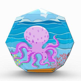 Octopus in the ocean