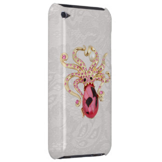 Octopus Jewel Photo Paisley Lace iPod Touch Case