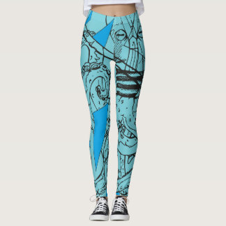 Octopus Kraken Leggins Leggings