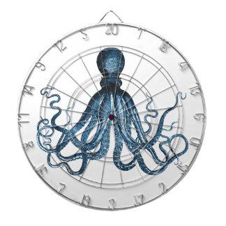 Octopus kraken nautical coastal ocean beach sea dartboard