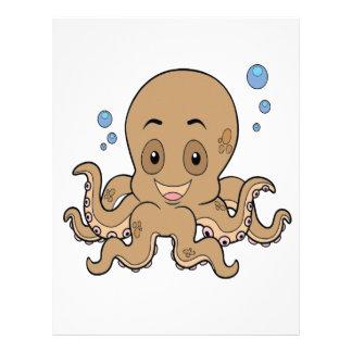 Octopus Letterhead