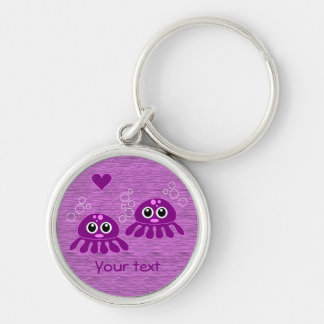 Octopus Love custom key chain - choose style, size