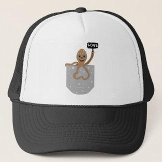 Octopus love trucker hat