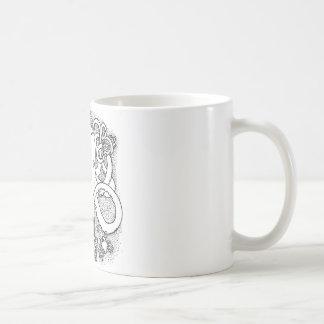Octopus multi-tasking coffee mug