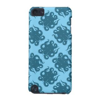Octopus On Blue Pattern iPod Touch 5G Covers