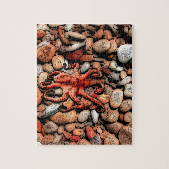 Octopus Pebbles Jigsaw Puzzle