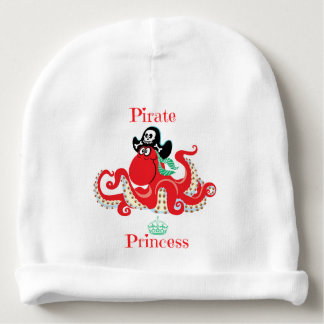Octopus Pirate Princess Baby Cotton Beanie Baby Beanie
