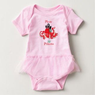 Octopus Pirate Princess Baby Tutu Bodysuit