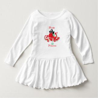 Octopus Pirate Princess Toddler Ruffle Dress