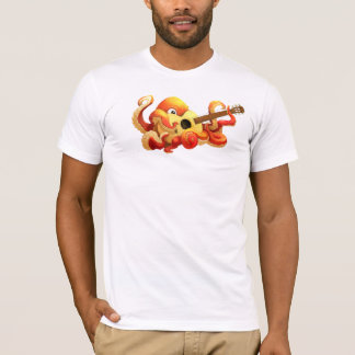 Octopus Playing Guitar Shirt