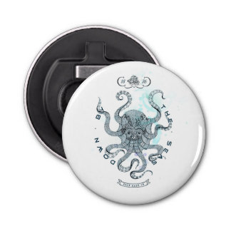 Octopus - Salt Club 76 - Down by the Sea Bottle Opener