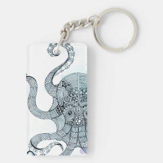 Octopus - Salt Club 76 - Down by the Sea Keychain