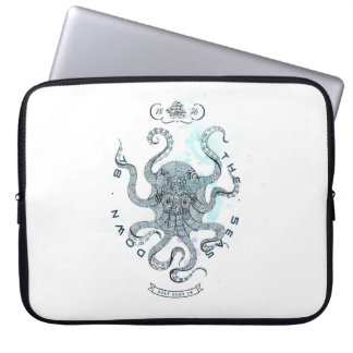 Octopus - Salt Club 76 - Down by the Sea Laptop Sleeve
