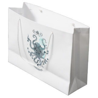 Octopus - Salt Club 76 - Down by the Sea Large Gift Bag