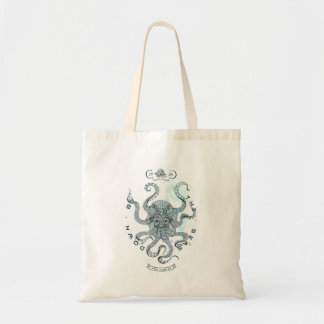 Octopus - Salt Club 76 - Down by the Sea Tote Bag