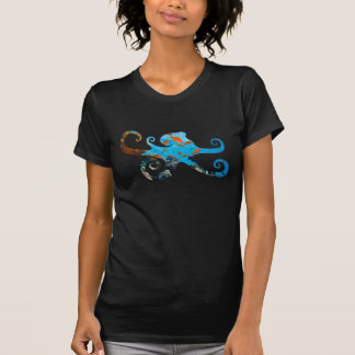 Octopus Silhouette Ocean Life T-Shirt