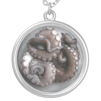 "Octopus-""Slave to Sushi"" Necklace"