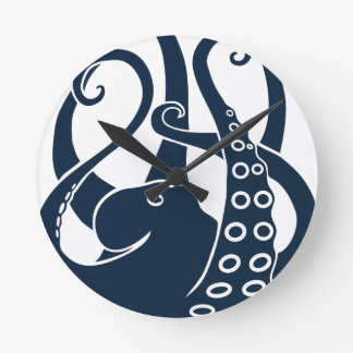 octopus squid cuttlefish oktopus scuba diving clock