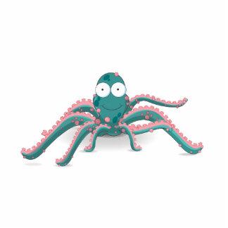 Octopus Standing Photo Sculpture