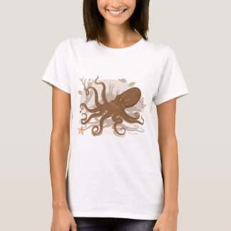 Octopus Starfish Coral Reef T-Shirt
