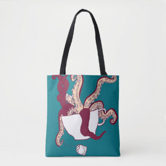 Octopus Tea Tote Bag