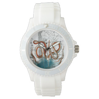 Octopus Vintage Map Watches