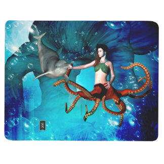Octopus women with dolphin journals