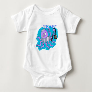 OctopusOnTheRun Baby Bodysuit