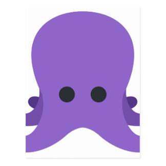 Octopuss Emoji Postcard
