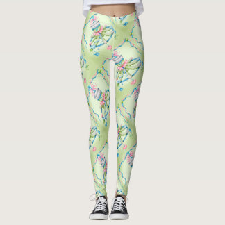 OCTOPUSS SQUID BABY CARTOON Leggings