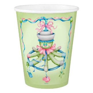 OCTOPUSS SQUID BABY  CARTOON  PAPER CUP
