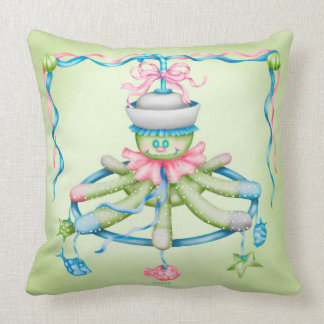 OCTOPUSS SQUID BABY THROW PILLOW 20 X 20