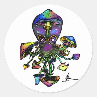 Octoshroom Stickers