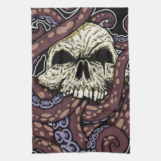 Octoskull Kitchen Towel