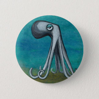 """Octosquid""_We all know one 2 Inch Round Button"