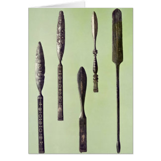 Oculist's instruments, c.270 card