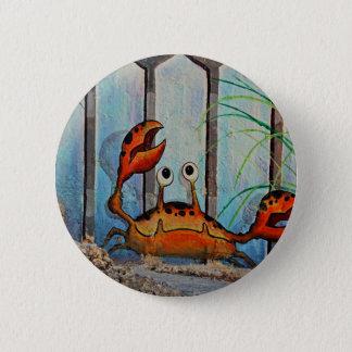 Ocypoid Crab 2 Inch Round Button