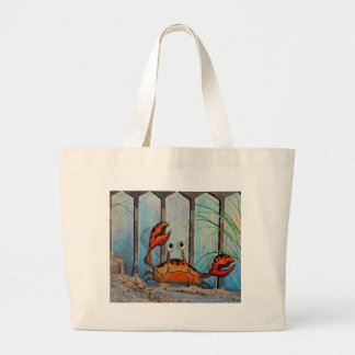 Ocypoid Crab Large Tote Bag