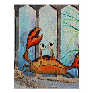 Ocypoid Crab Letterhead