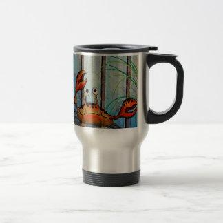 Ocypoid Crab Travel Mug