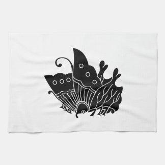 Oda butterfly kitchen towel